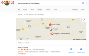 Google Maps Business Listing in Hindi