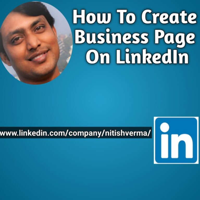 How To Create Business Page On LinkedIn in Hindi
