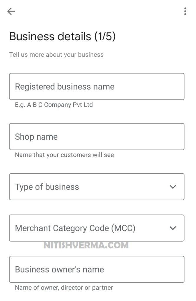 Google-Pay-Merchant-Account-Business-Details