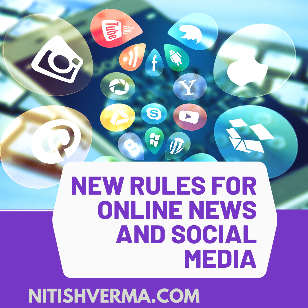New Rules For Online News And Social Media